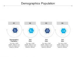Demographics Population Ppt Powerpoint Presentation Show Inspiration Cpb