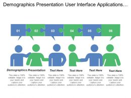 Demographics Presentation User Interface Applications Unifying Logic Platform Perspective