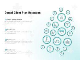 Dental Client Plan Retention Ppt Powerpoint Presentation Show Backgrounds