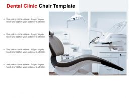 Dental Clinic Chair Template