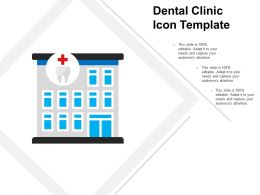 Dental Clinic Icon Template