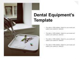 Dental Equipments Template