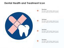Dental Health And Treatment Icon