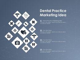 Dental Practice Marketing Idea Ppt Powerpoint Presentation Summary Demonstration
