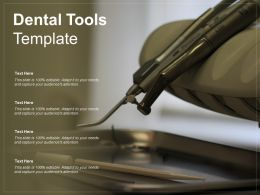 Dental Tools Template