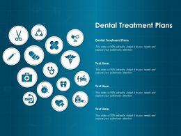 Dental Treatment Plans Ppt Powerpoint Presentation Model Designs Download