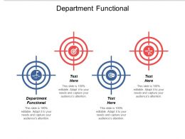 Department Functional Ppt Powerpoint Presentation File Graphics Tutorials Cpb