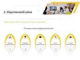 Departmentalization Common M739 Ppt Powerpoint Presentation File Show
