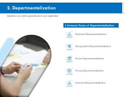 Departmentalization Functional M812 Ppt Powerpoint Presentation Infographics Outfit