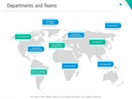 Departments And Teams Business Outline Ppt Diagrams