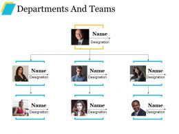 Departments And Teams Powerpoint Presentation Templates