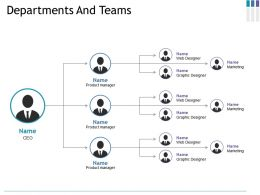 Departments And Teams Ppt File Clipart Images