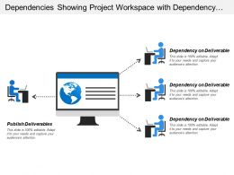 Dependencies Showing Project Workspace With Dependency On Deliverable