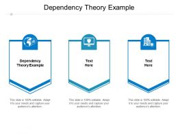 Dependency Theory Example Ppt Powerpoint Presentation File Aids Cpb