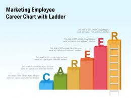 Depicting Career Chart With Ladder