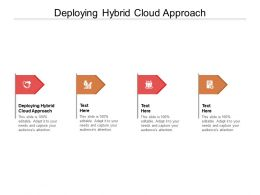 Deploying Hybrid Cloud Approach Ppt Powerpoint Presentation Professional Outfit Cpb