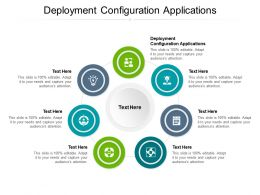 Deployment Configuration Applications Ppt Powerpoint Presentation Pictures Cpb