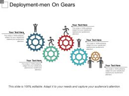 Deployment Men On Gears
