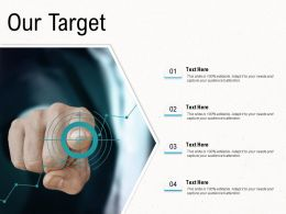 Deployment Strategies Our Target Ppt Topics