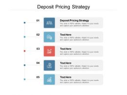 Deposit Pricing Strategy Ppt Powerpoint Presentation Outline Good Cpb