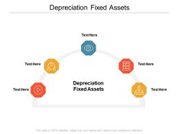Depreciation Fixed Assets Ppt Powerpoint Presentation Layouts Topics Cpb