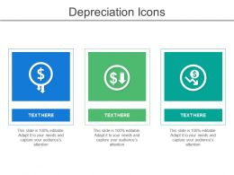 Depreciation Icons