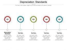Depreciation Standards Ppt Powerpoint Presentation Slides Microsoft Cpb