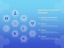 Depression Treatment Strategies Ppt Powerpoint Presentation Inspiration Slideshow