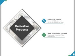 Derivative Products Ppt Powerpoint Presentation File Example File