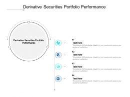 Derivative Securities Portfolio Performance Ppt Powerpoint Display Cpb