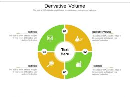 Derivative Volume Ppt Powerpoint Presentation Inspiration Smartart Cpb