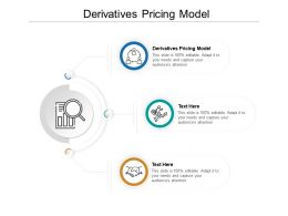Derivatives Pricing Model Ppt Powerpoint Presentation Diagram Graph Charts Cpb