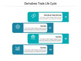 Derivatives Trade Life Cycle Ppt Powerpoint Presentation Ideas Example Introduction Cpb