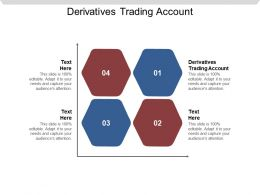 Derivatives Trading Account Ppt Powerpoint Presentation Infographics Format Cpb