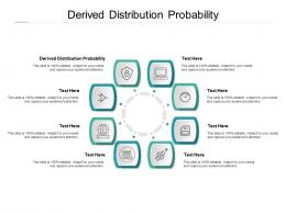 Derived Distribution Probability Ppt Powerpoint Presentation Model Aids Cpb