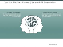 Describe The Gap Problem Sample Ppt Presentation