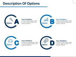 Description Of Options Attention Ppt Powerpoint Presentation File Example