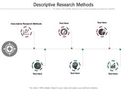 Descriptive Research Methods Ppt Powerpoint Presentation Visual Aids Example 2015 Cpb