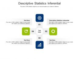 Descriptive Statistics Inferential Ppt Powerpoint Presentation Ideas Background Image Cpb