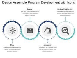 Design Assemble Program Development With Icons