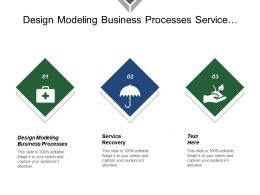 Design Modeling Business Processes Service Recovery Out Service Time