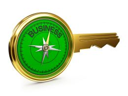 Design Of Business Key Stock Photo
