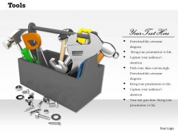 Design Of Tool Box With Mechanical Devices