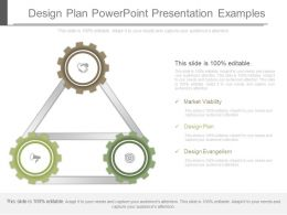 Design Plan Powerpoint Presentation Examples