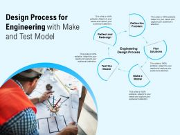 Design Process For Engineering With Make And Test Model