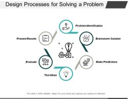 Design Processes For Solving A Problem