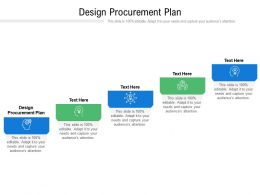 Design Procurement Plan Ppt Powerpoint Presentation Gallery Summary Cpb