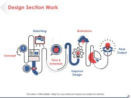 Design Section Work Concept Ppt Pictures Slide Download