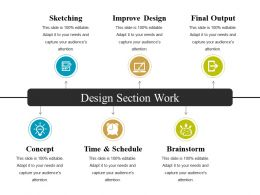 Design Section Work Powerpoint Slide Presentation Guidelines