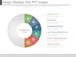 Design Strategic Plan Ppt Images
